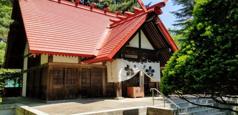 十勝護国神社本殿
