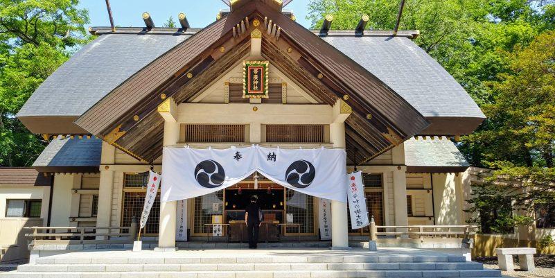 帯広神社本殿