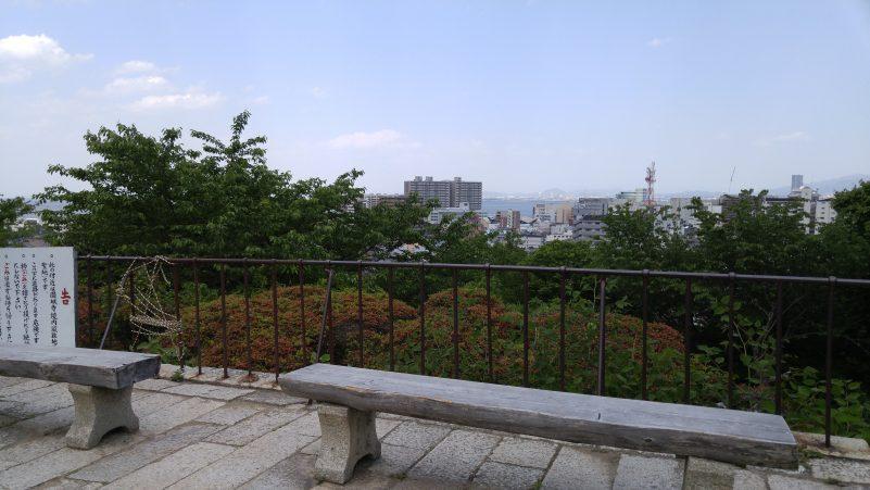 三井寺観音堂からの眺め