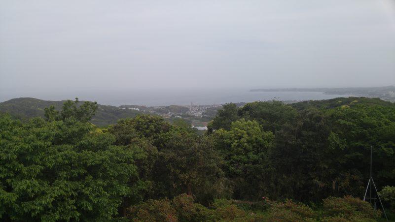 武山不動尊からの眺め