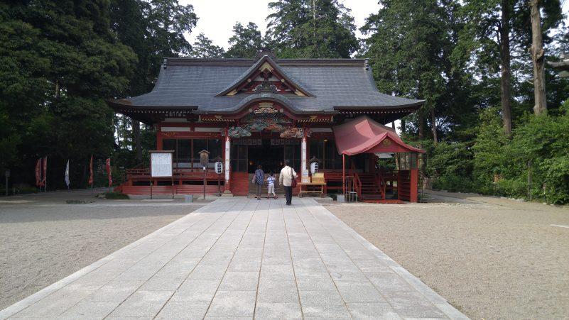 大前神社本殿