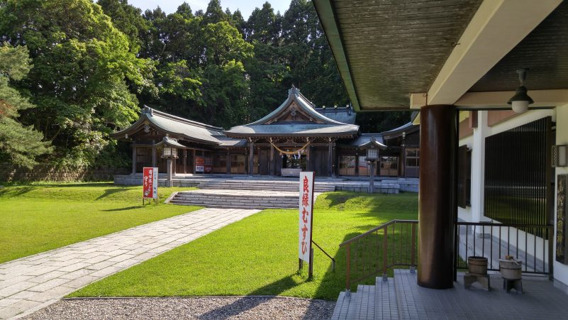 箱館護国神社本殿