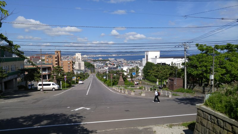 箱館護国神社からの眺め