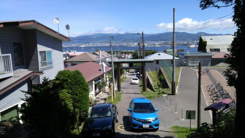 船魂神社からの眺め