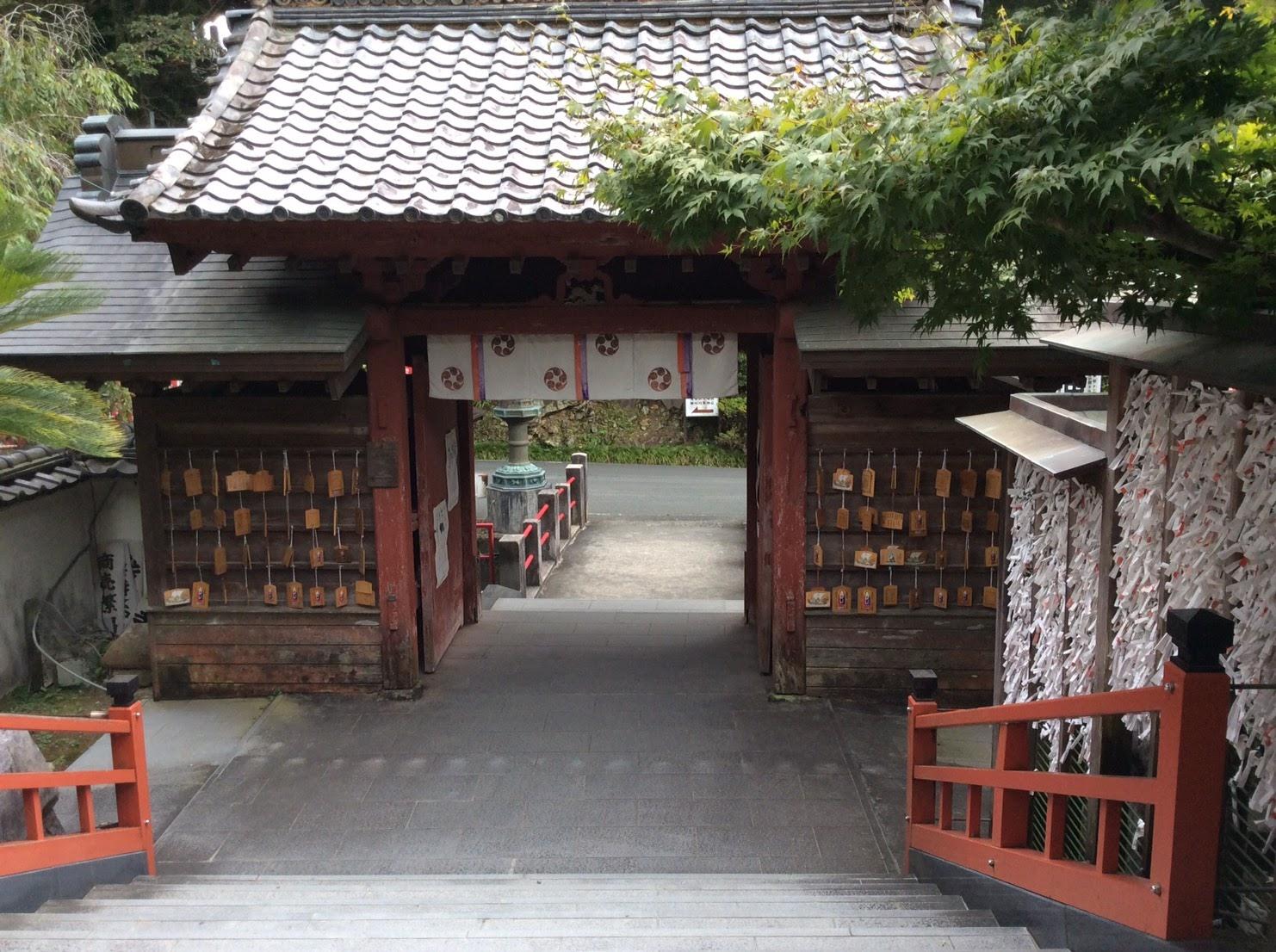 岩水寺三門