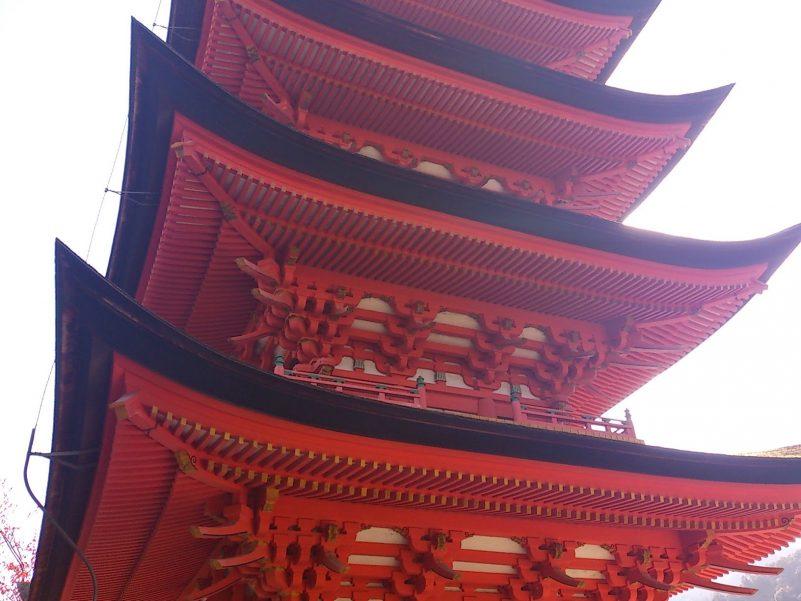豊国神社五重塔