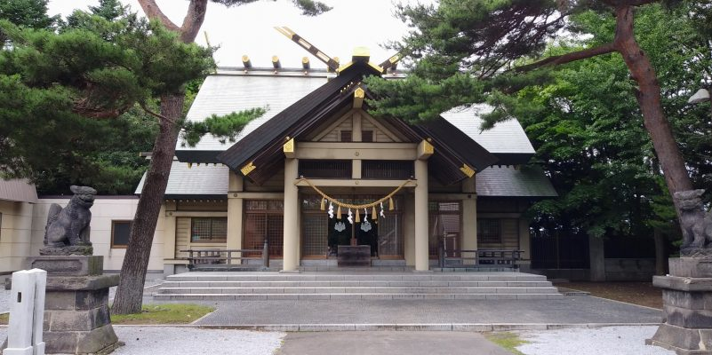 江別神社本殿